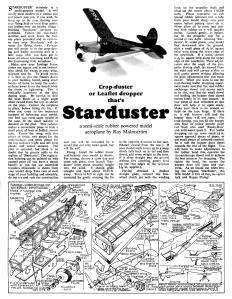 Starduster-Nota