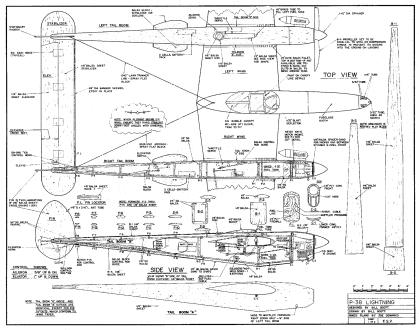 P-38-LIGHTNING-Fuse