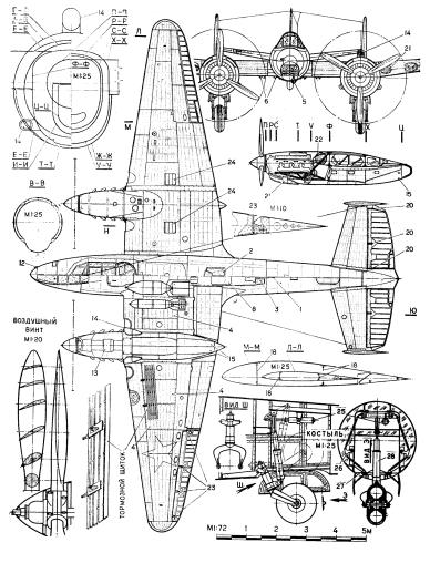 Petlyakov-Pe-2-plano